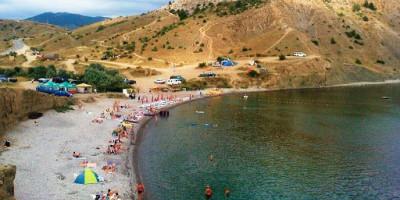 Пляж за мысом Алчак г. Судак - фотографии, отзывы туристов, адрес