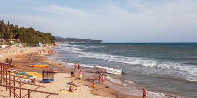 Пляж Золотой берег в Лермонтово подробное описание с реальными отзывами отдыхающих фотографии как проехать адрес.