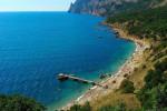 Пляж Золотой в городе Балаклава - лето 2021, актуальные фотографии, отзывы туристов