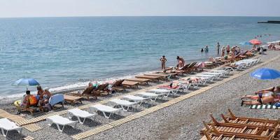 Пляжи поселка Гурзуф