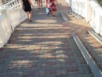 Пляж Полярная звезда в городе Геленджик