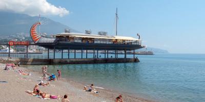 Приморский пляж г. Ялта - описание, фотографии, отзывы, адрес