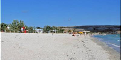 Обзор на лучшие санаторные пляжи города Щелкино на лето 2020, отзывы, фотографии