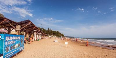 Топ 3 пляжей поселка Лермонтово, описание, инфраструктура, отзывы туристов, фотографии, местоположение.