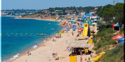 Пляж Учкуевка лето 2020 года - инфраструктура, фотографии, отзывы туристов.