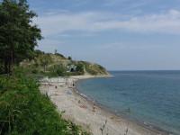 пляжи в поселке Вишневка