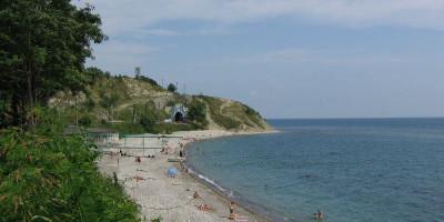 Пляжи в Вишневке