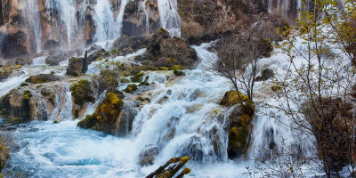 Водопад «Жемчужный» прямо в поселке Большой Утриш – фотографии, описание, маршрут, отзывы туристов.