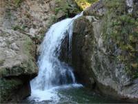 Водопад «Жемчужный» прямо в поселке Большой Утриш