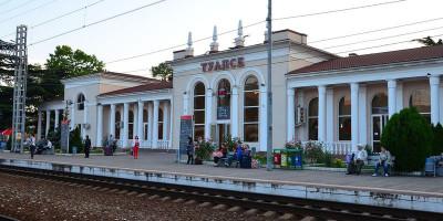 Подробная информация про железнодорожный вокзал Туапсе, описание, фотографии, как проехать, адрес.