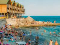 Описание пляжа Воронцовские купальни в Алупке, актуальные отзывы, фотографии.