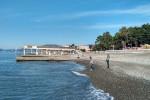 """Оборудованный пляж санатория """"Южное взомрье"""" на сезон 2021 года с ценами"""