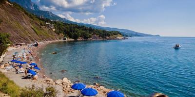 Пляж Зеленый мыс г. Алупка - отзывы туристов, фотографии, адрес